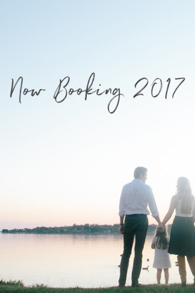 Now Booking 2017!